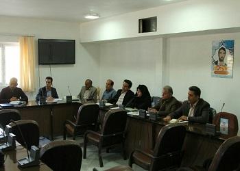 جلسه عوامل اجرایی همایش و شورای سیاست گذاری