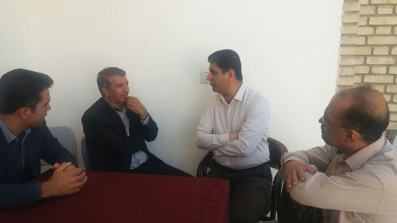 دیدار هیئت رئیسه با نماینده مردم شهرستان رفسنجان